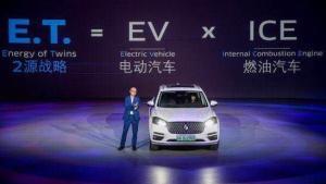 中国资本打造德系品牌  宝沃轿跑BX6纯电动BXI7上市