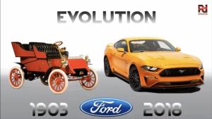 10分钟到你领略美国福特汽车115年的车型发展史!