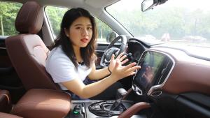 """10万元拥有""""宝马""""基因SUV?斗车妹试驾中华V6"""