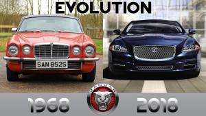 悉数捷豹自1968年至今50年顶级豪华车型XJ的发展历史