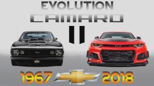 雪佛兰 科迈罗——1967-2018年的进化