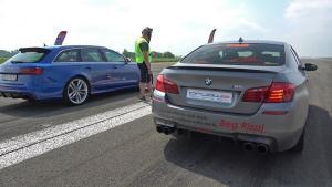 900马力的宝马M5 挑战750马力的奥迪RS6