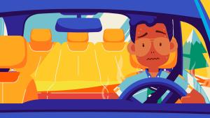 夏日必学小妙招!教你一分钟降低车内温度