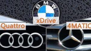 奔驰4MATIC vs 奥迪Quattro vs 宝马xDrive