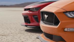 福特Mustang vs 雪佛兰科迈罗  MT