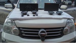 西安东风风度MX6音响改装 全车隔音案例