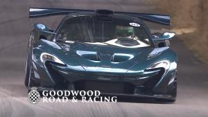 迈凯伦 McLaren P1 GT 亮相 2018 古德伍德速度节