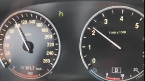 宝马730高速及平时油耗