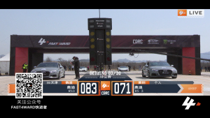 FAST4WARD  北京站 奥迪rs3 vs 奥迪rs3