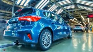 精美汽车工业欣赏 2019款福特福克斯的生产过程