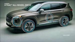全新现代圣达菲全方位解析 全新外观铸就跨界家用SUV