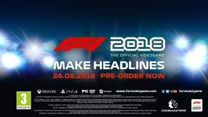 F1 2018 官方游戏预告片 3