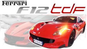 小哥撩车 | 媲美拉法?小哥带你看法拉利F12 TDF