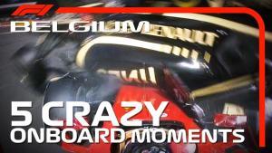 F1 历史课 | 比利时大奖赛 5 大疯狂车载镜头