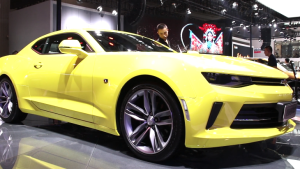 大黄蜂科迈罗变瘦,车展现场实拍自然吸气变涡轮增压