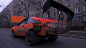 铁锹也能用来改装车?老外用木头做减震器实测。