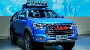 江淮小型SUV再添新军,智能大皮卡帅铃T8成都车展上市