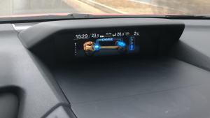 2019斯巴鲁XV智擎旗舰版混动系统能量矢量图