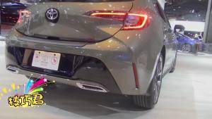 2020款卡罗拉抢先看,新技术+8个安全气囊