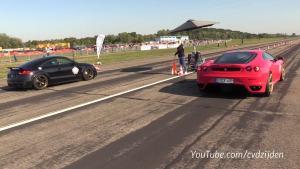 430马力的奥迪TT RS竞速多位强敌