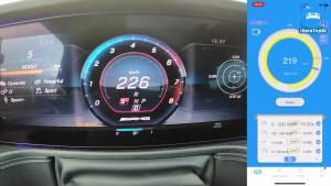 2019款奔驰G63 AMG加速性能测试