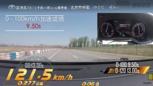 丰田亚洲龙超级评测加速测试视频