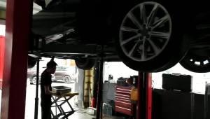 奥迪A7自动变速箱维修:起步冲击故障