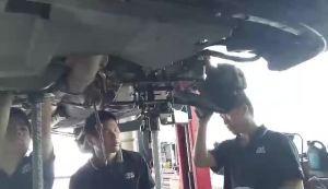 海马vt2自动变速箱维修:冲击、故障灯闪亮