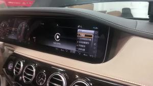 奔驰s320柏林之声 旋转高音完工 享受高音质的音乐