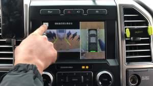 F-150 LTD倒车影像自带拖车勾轨迹