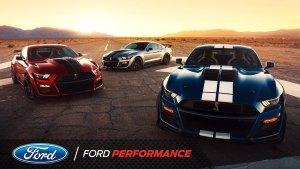 全新福特 Mustang Shelby GT500 亮相北美车展