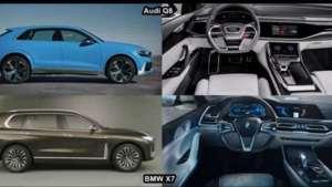 Audi Q8 VS 2019 BMW X7动力鉴赏对比