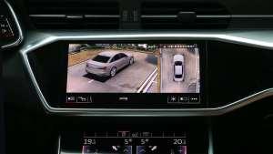 福睿狮&奥迪A6L专车专用360全景影像系统