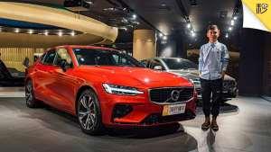 还买3系/C级?颜值更新 安全升级 新一代沃尔沃S60新车首测