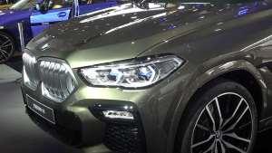 黑夜中最亮的双肾由此开始 凹凸哥广州车展讲全新BMW X6
