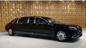 价值180万美金 梅赛德斯-迈巴赫-普尔曼V12 Armoured豪华豪华轿车