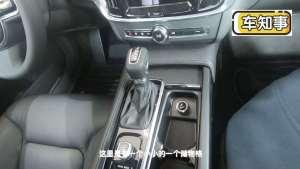 实拍S90运动版|中控台该有的设计都有,启动按钮在排挡杆后方