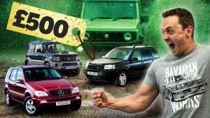 英国二手车市场揭秘第三弹:5000买的路虎能战吉姆尼?