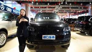 上海弓天 高端路虎SUV实拍解读 美女带您赏析现车