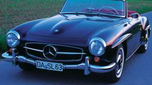 因为爱情·这辆60岁的190SL来到了四驱王的车库
