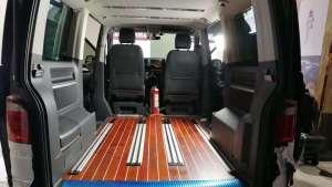 西安合正大众迈特威内饰改装,汽车木地板改装实木