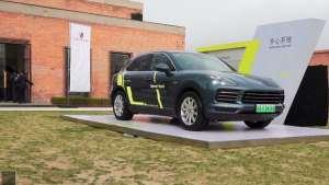 混动技术源自赛道全新Cayenne E-Hybrid