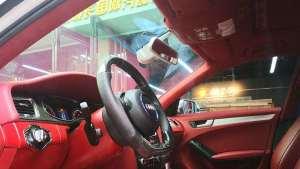 西安奥迪A4内饰改装升级 西安改个车