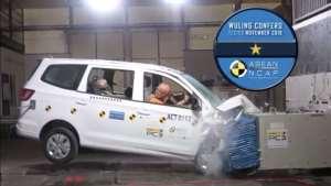 神车五菱ASEAN-NCAP碰撞获一星成绩让人大跌眼镜