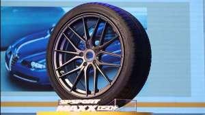 邓禄普新品轮胎售价800元~1800元,主打高性能豪华车