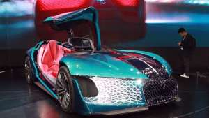 法式豪华品牌DS携四款新能源车型亮相上海车展