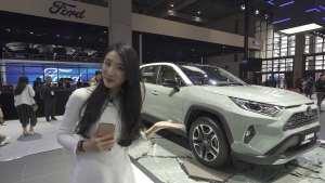 上海车展实拍全新一代丰田RAV4荣放