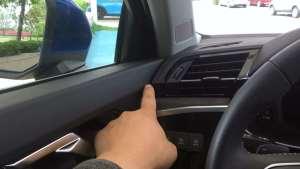 全新奥迪Q3内饰设计整体感强,车门仪表衔接流畅台