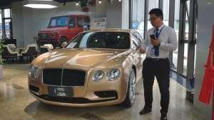 宾利飞驰V8S行政商务家轿全能利器迈巴赫只能靠边