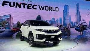 东风Honda纯电动车X-NV概念车全球首发